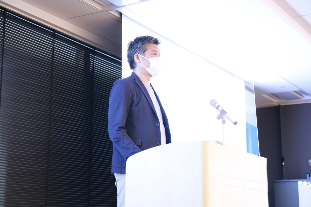 代表取締役社長の鈴木