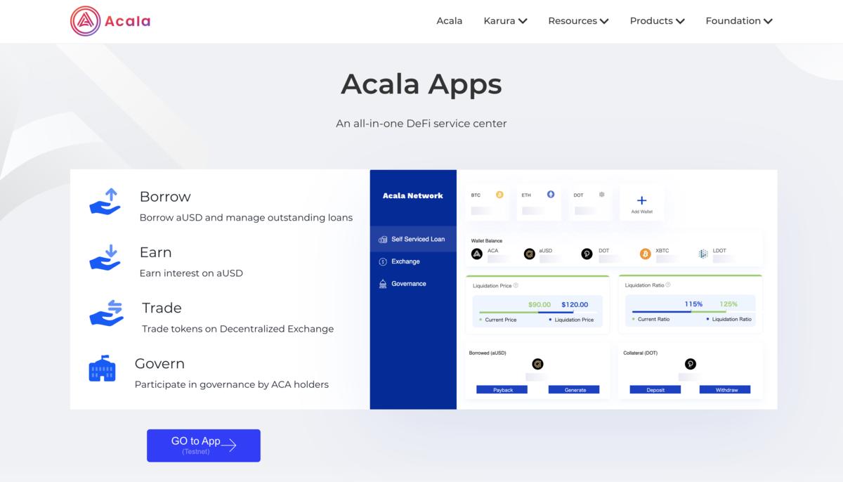 Acala app