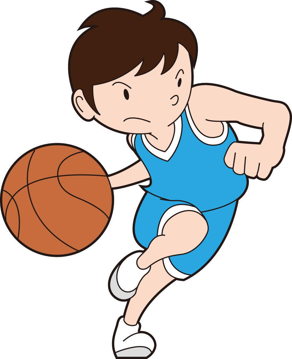 バスケットボール少年