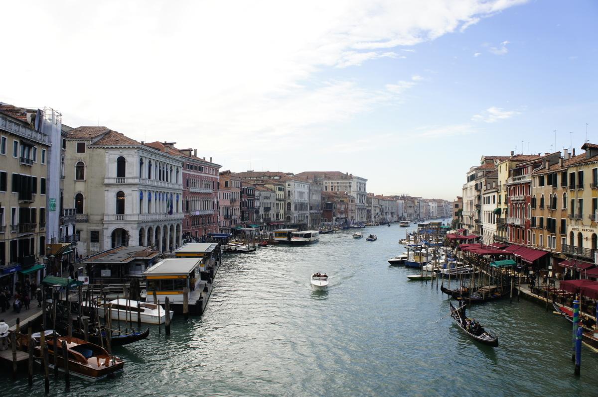 ヴェネツィア 水路