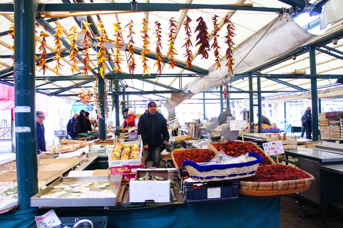 ヴェネツィア 市場