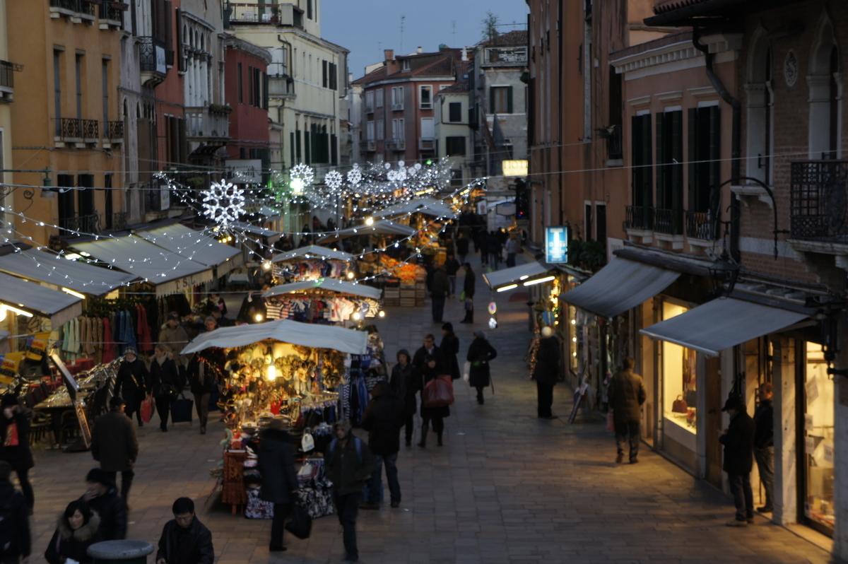 ヴェネツィア クリスマスマーケット