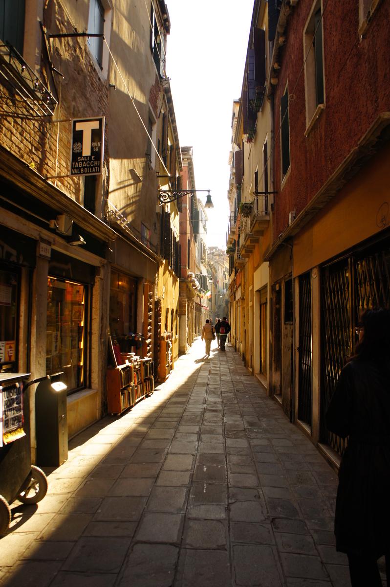 ヴェネツィア 町並み
