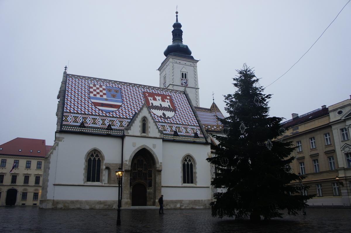 ザグレブ 聖マルコ教会