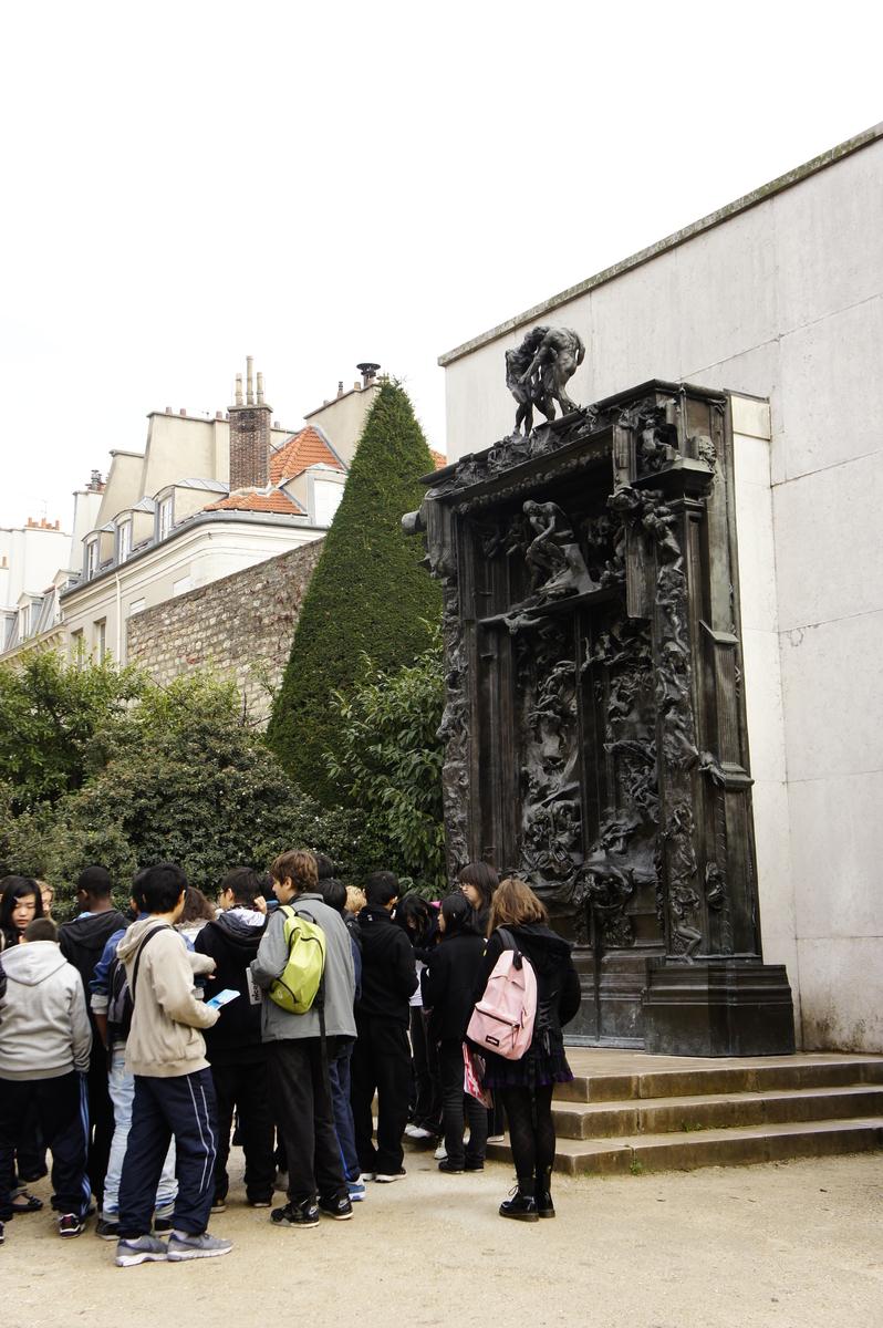 ロダン美術館 地獄の門