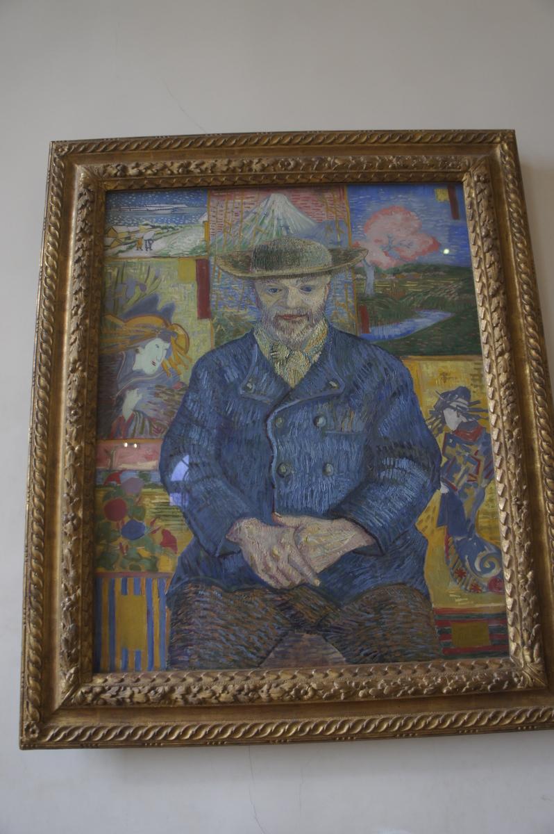 ロダン美術館 タンギー爺さん ゴッホ