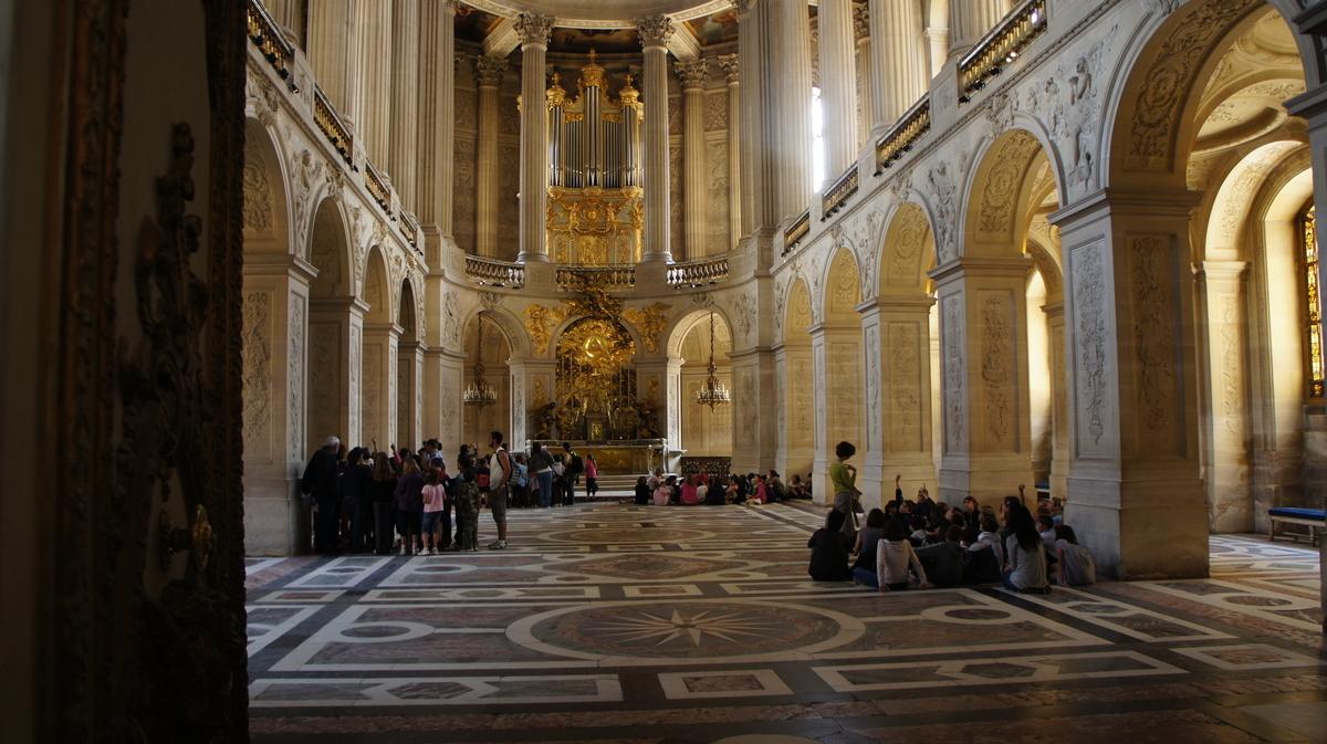 ヴェルサイユ宮殿 王室礼拝堂