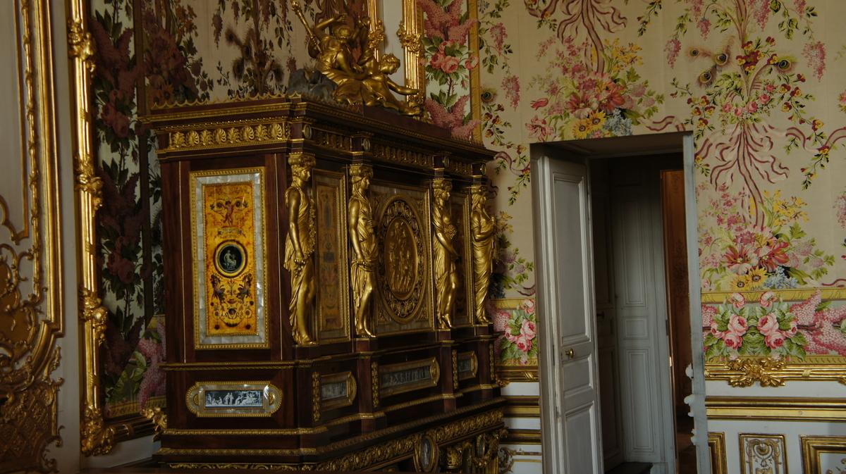 ヴェルサイユ宮殿 王妃の大居室 宝石箱