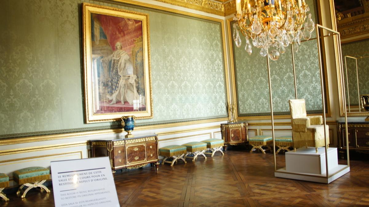ヴェルサイユ宮殿 貴人の間