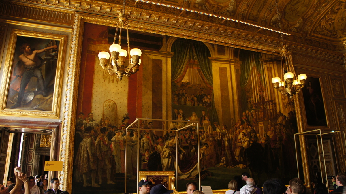 ヴェルサイユ宮殿 戴冠の間