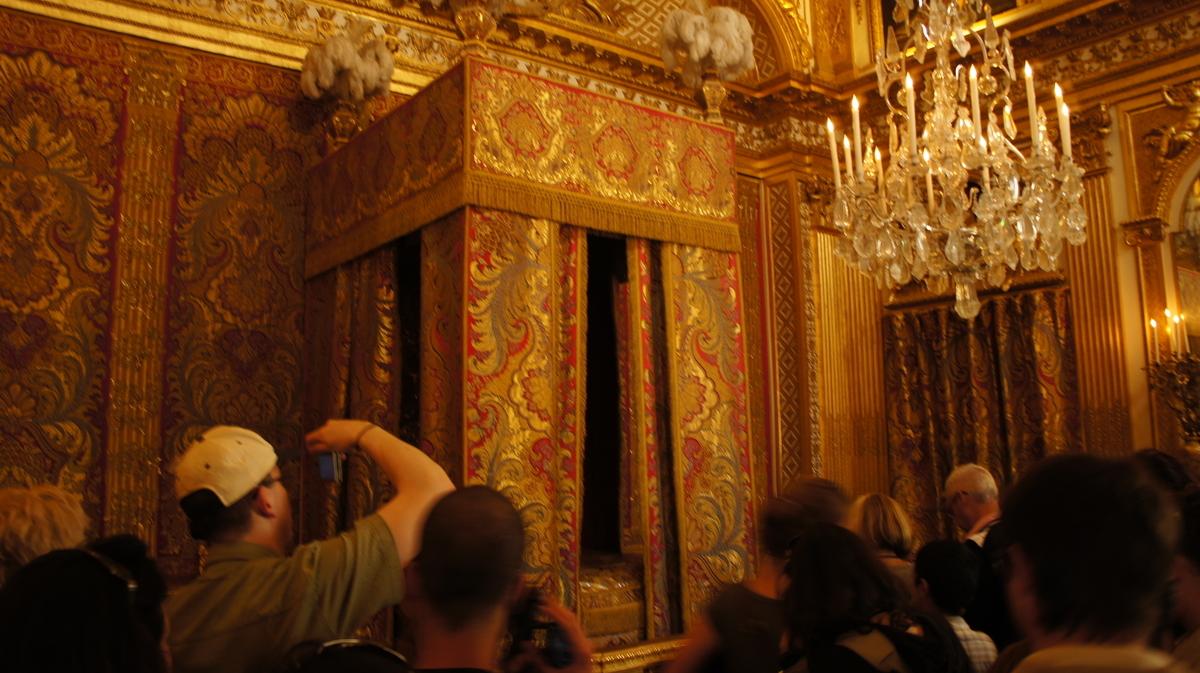ヴェルサイユ宮殿 王の寝室