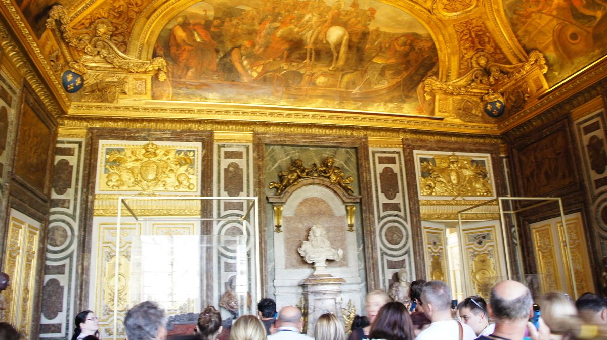 ヴェルサイユ宮殿 ディアーヌの間