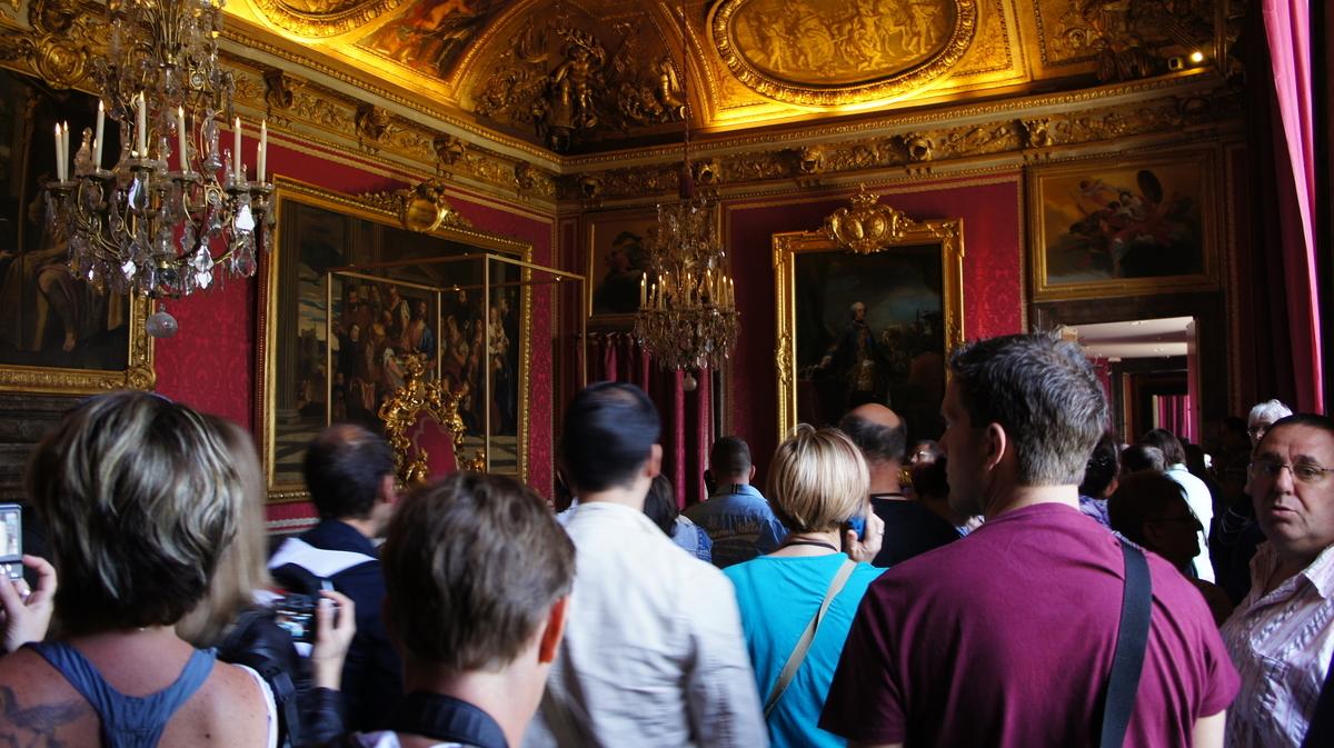 ヴェルサイユ宮殿 マルスの間