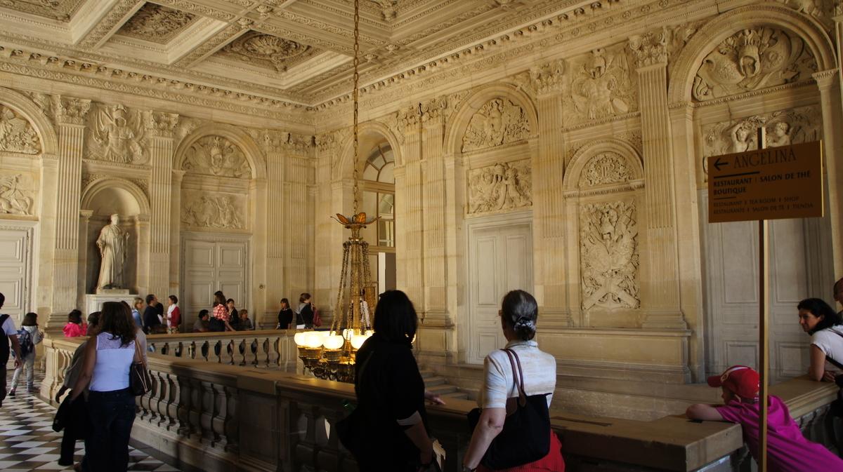ヴェルサイユ宮殿 王妃の階段