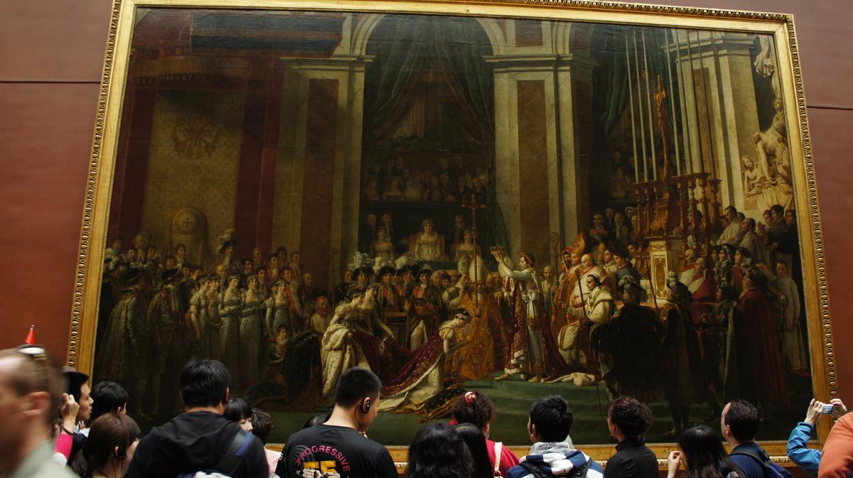 ナポレオンの戴冠式 ヴェルサイユ