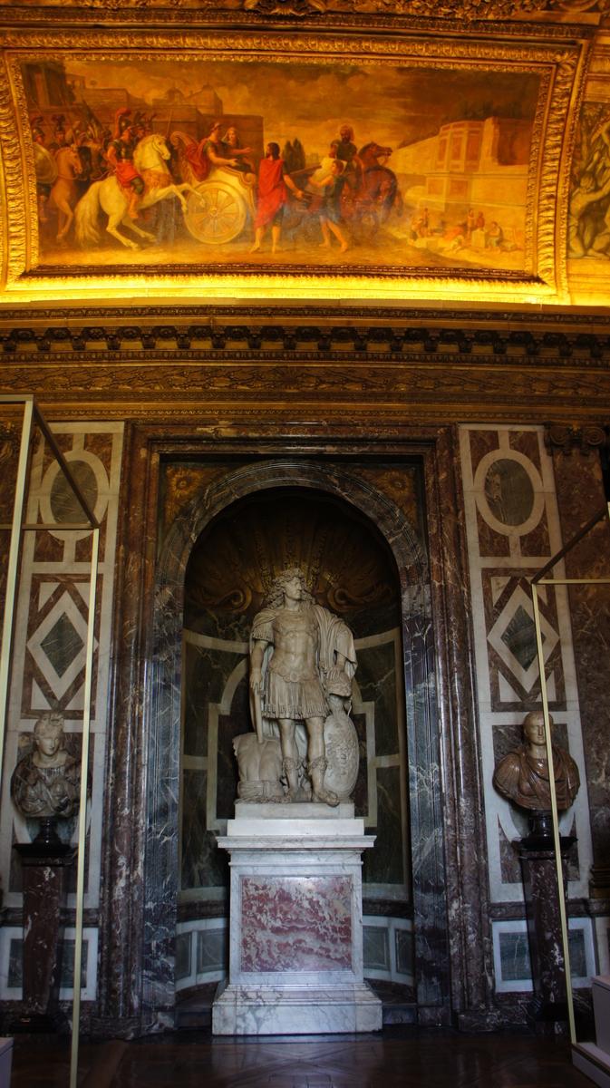 ルイ14世像 ヴェルサイユ