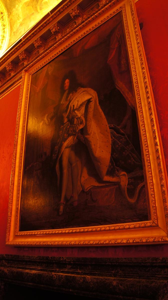 ルイ14世肖像画 ヴェルサイユ