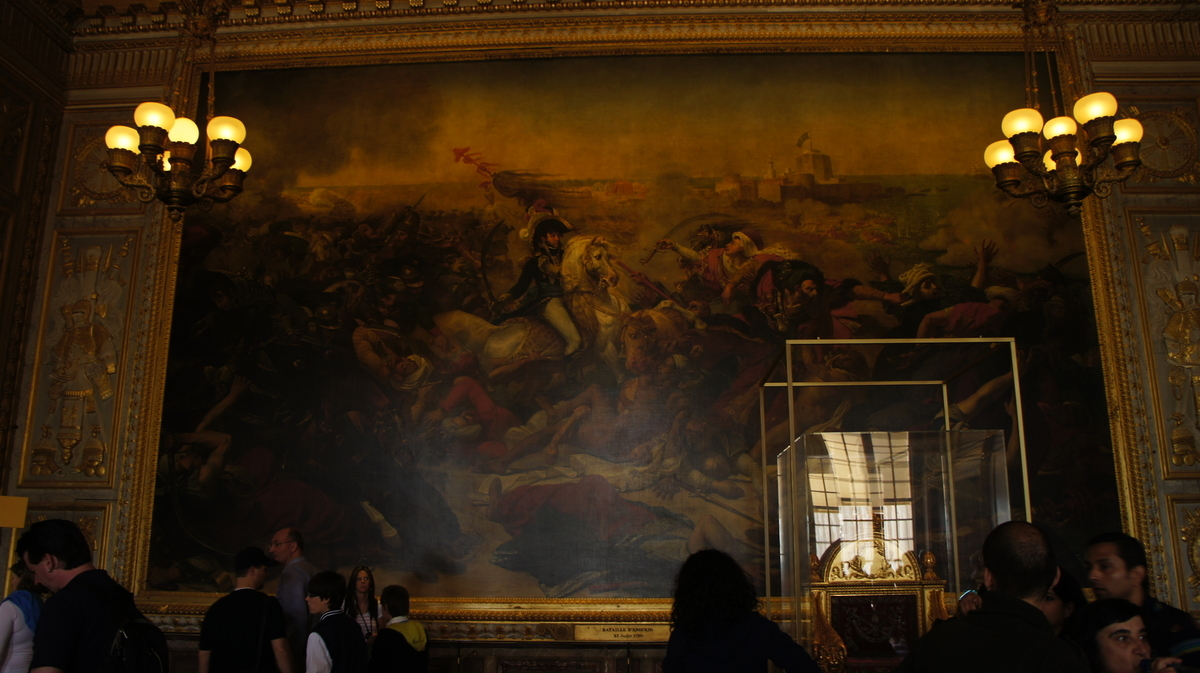 アブキールの戦い 戴冠式の間 ヴェルサイユ