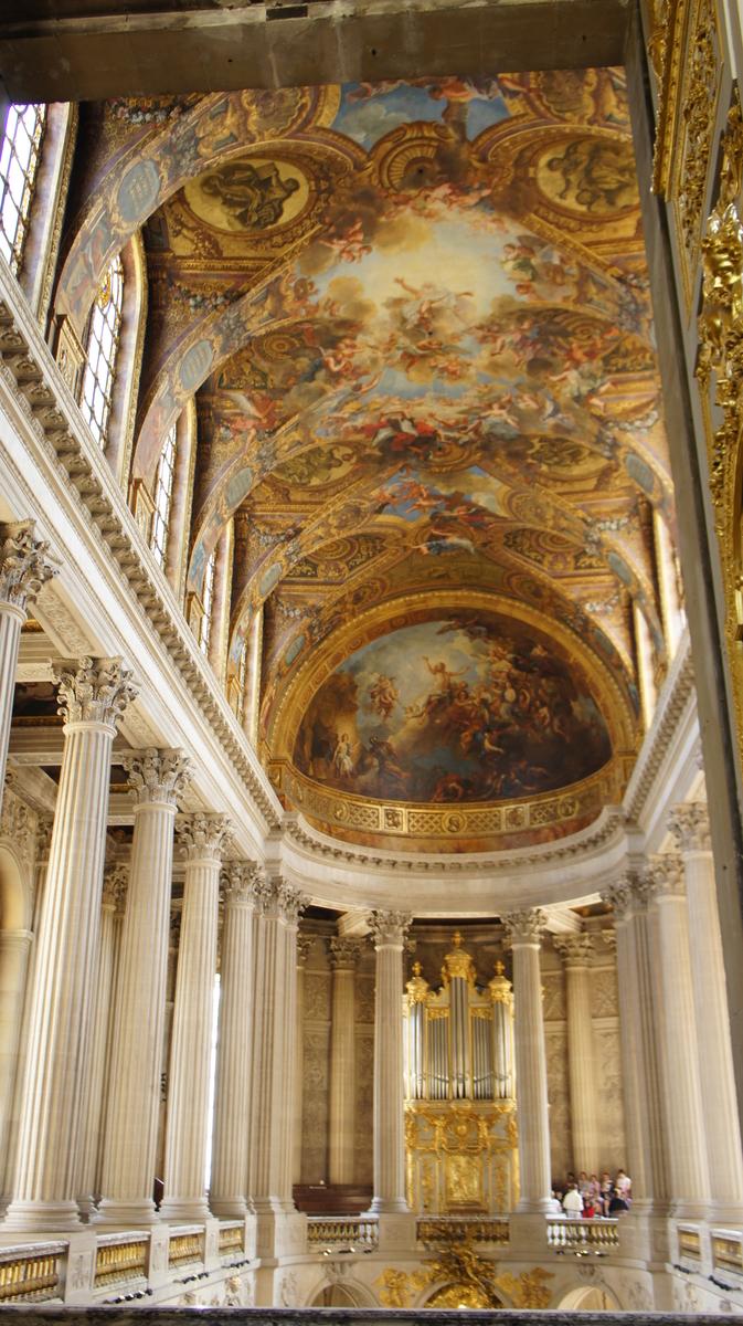 三位一体 ヴェルサイユ 王室礼拝堂
