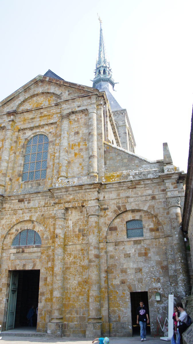モンサンミッシェル修道院付属教会