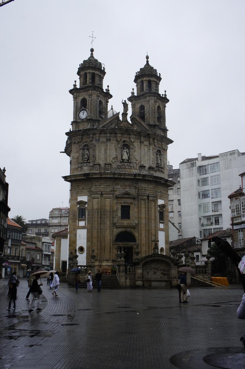 ペレグリナ教会 スペイン ポンテベドラ