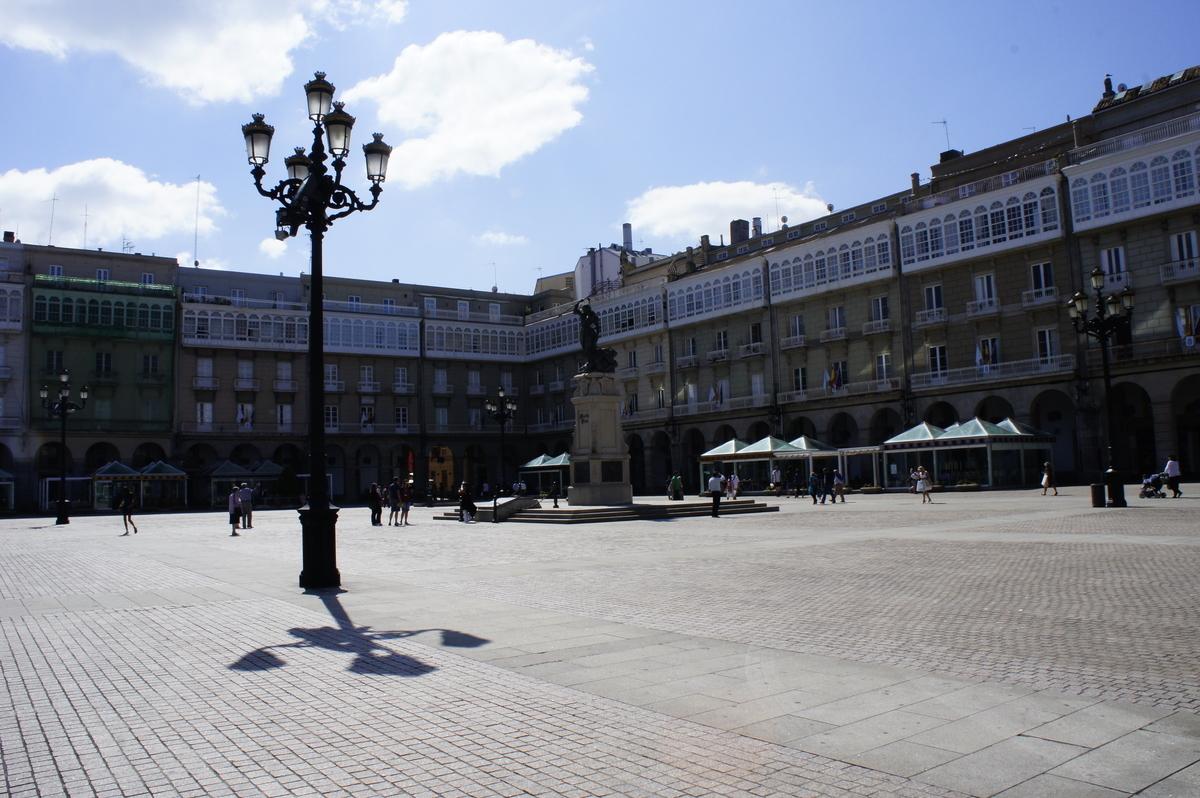 Maria Pita Square ア・コルーニャ スペイン