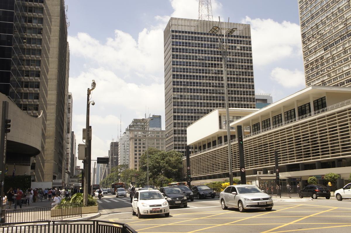 パウリスタ通り サンパウロ