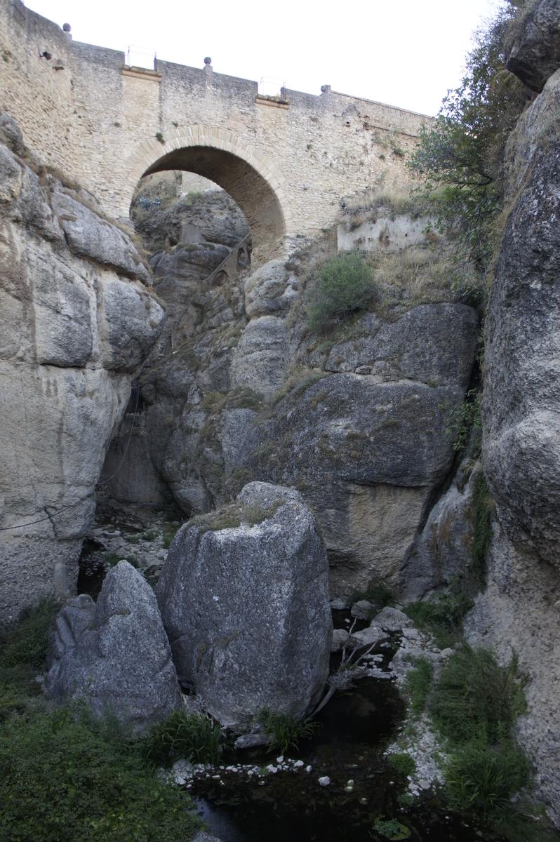 ビエホ橋 ロンダ スペイン