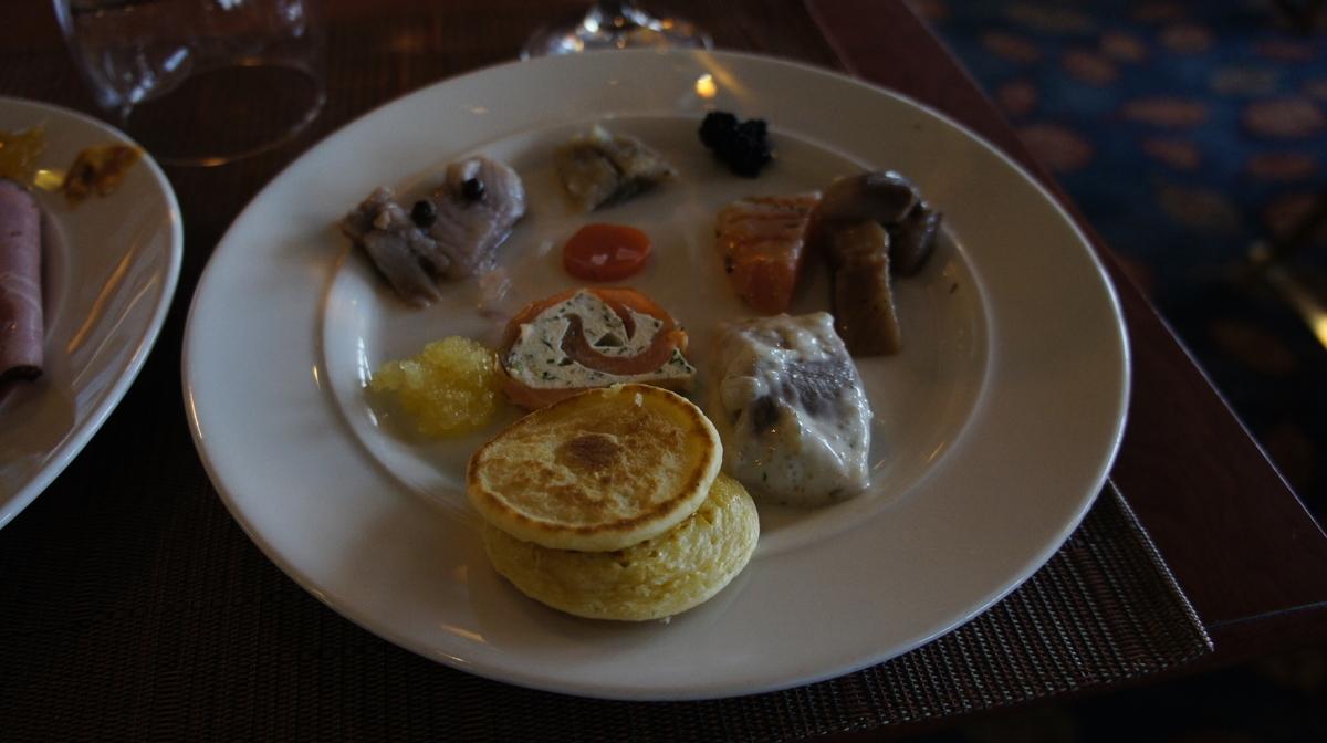 ヴァイキングライン朝食