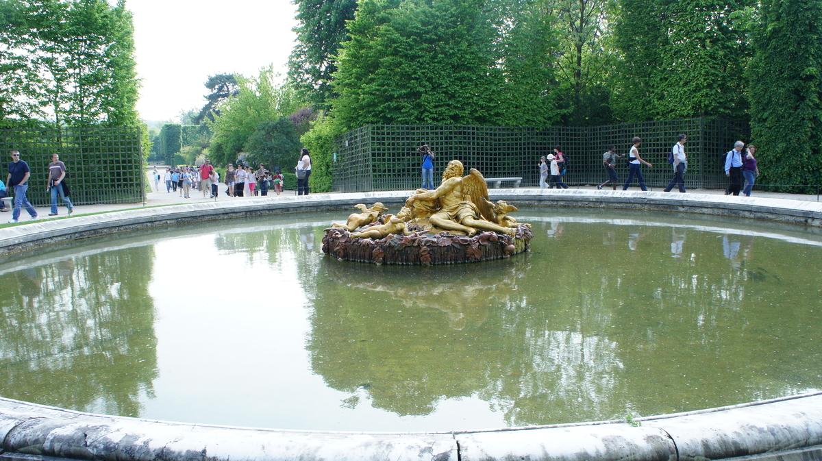 ヴェルサイユ庭園 泉水