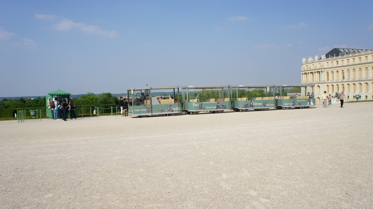 ヴェルサイユ庭園 列車