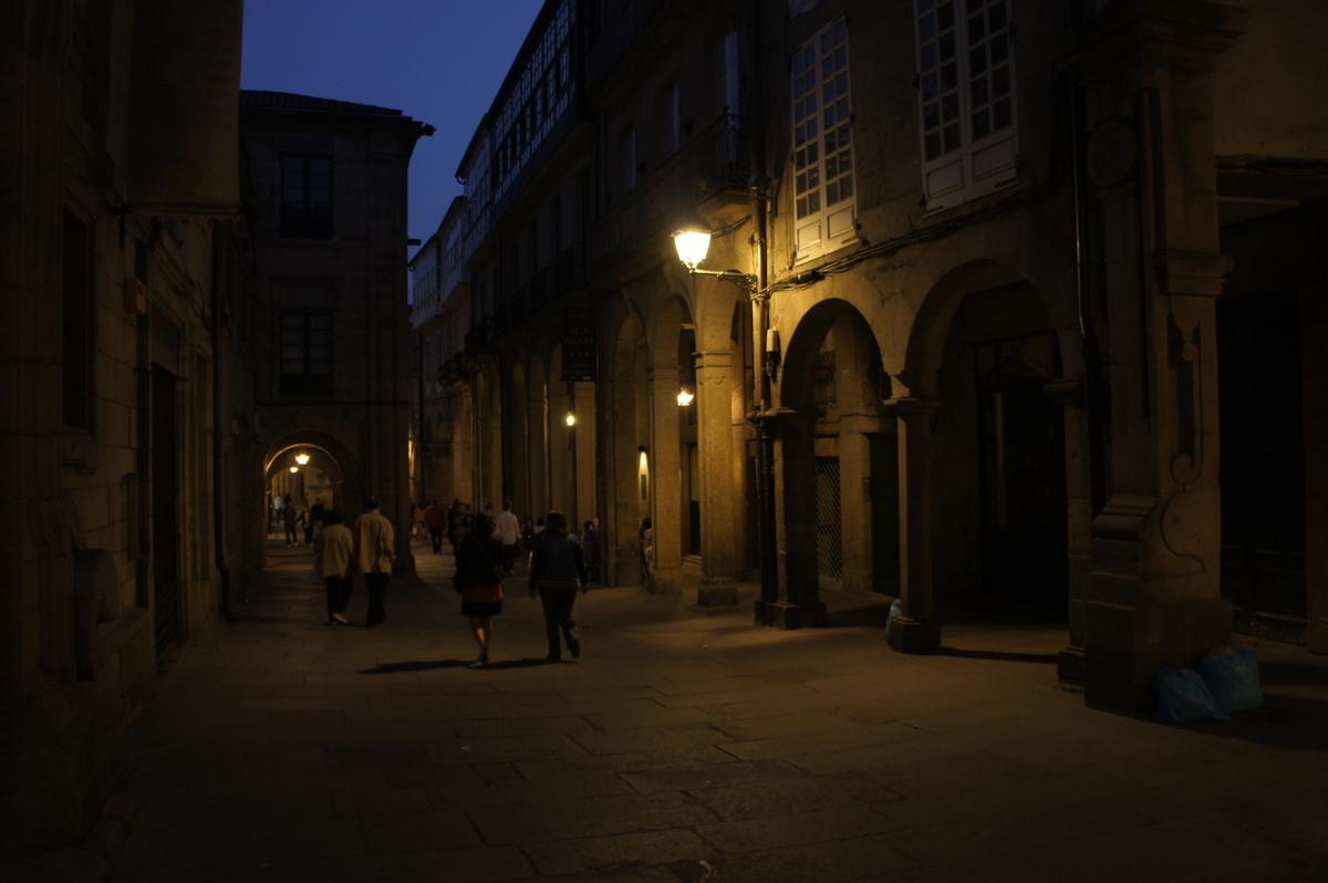 サンティアゴ・デ・コンポステーラ 町並み