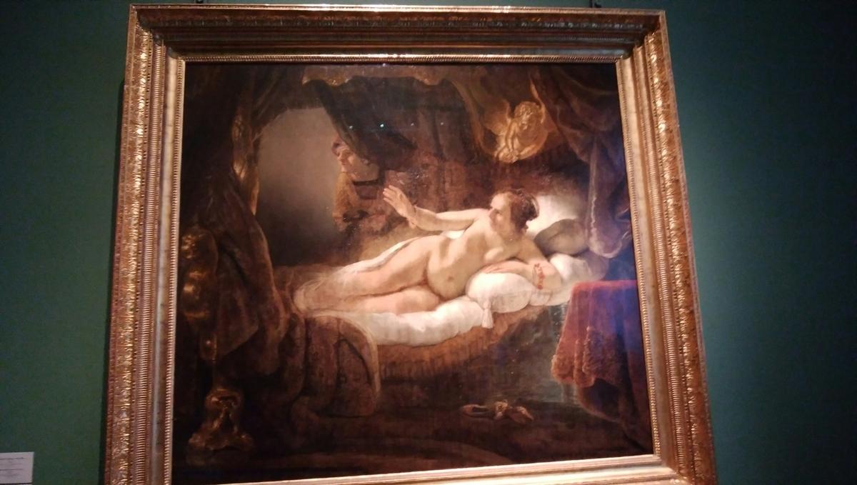 ダナエ エルミタージュ美術館