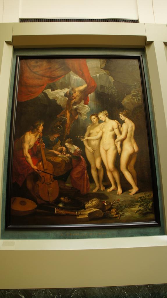 パリスの審判 ルーブル美術館