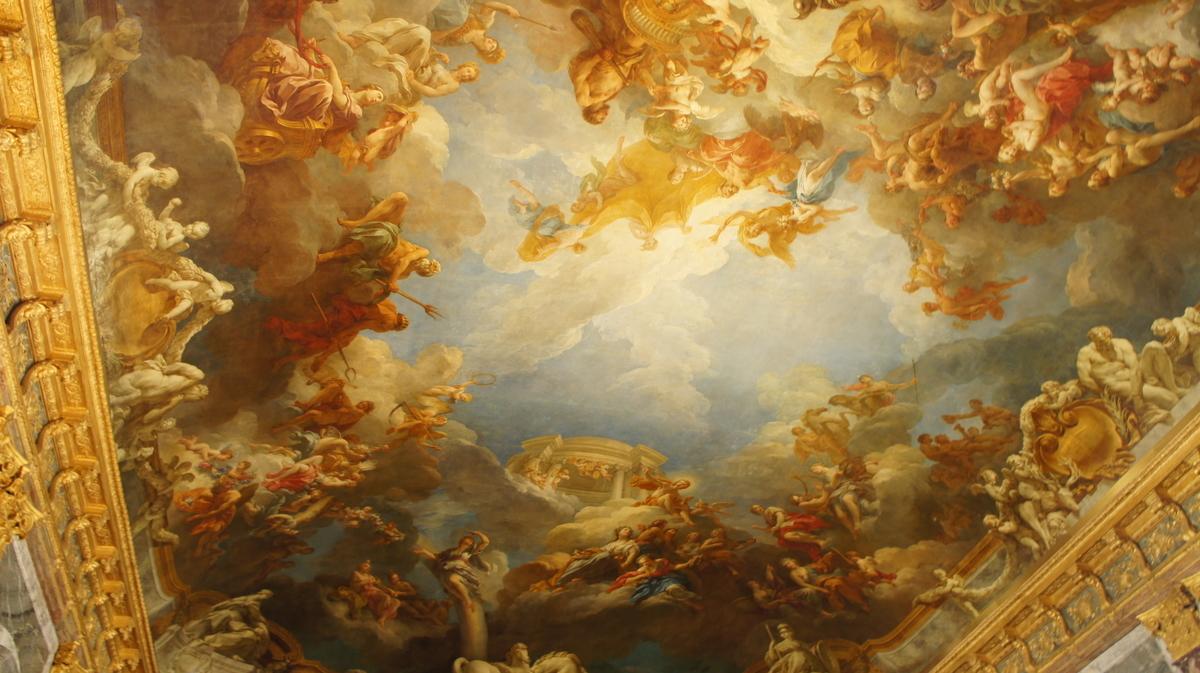 『ヘラクレスの神格化』 ヴェルサイユ宮殿
