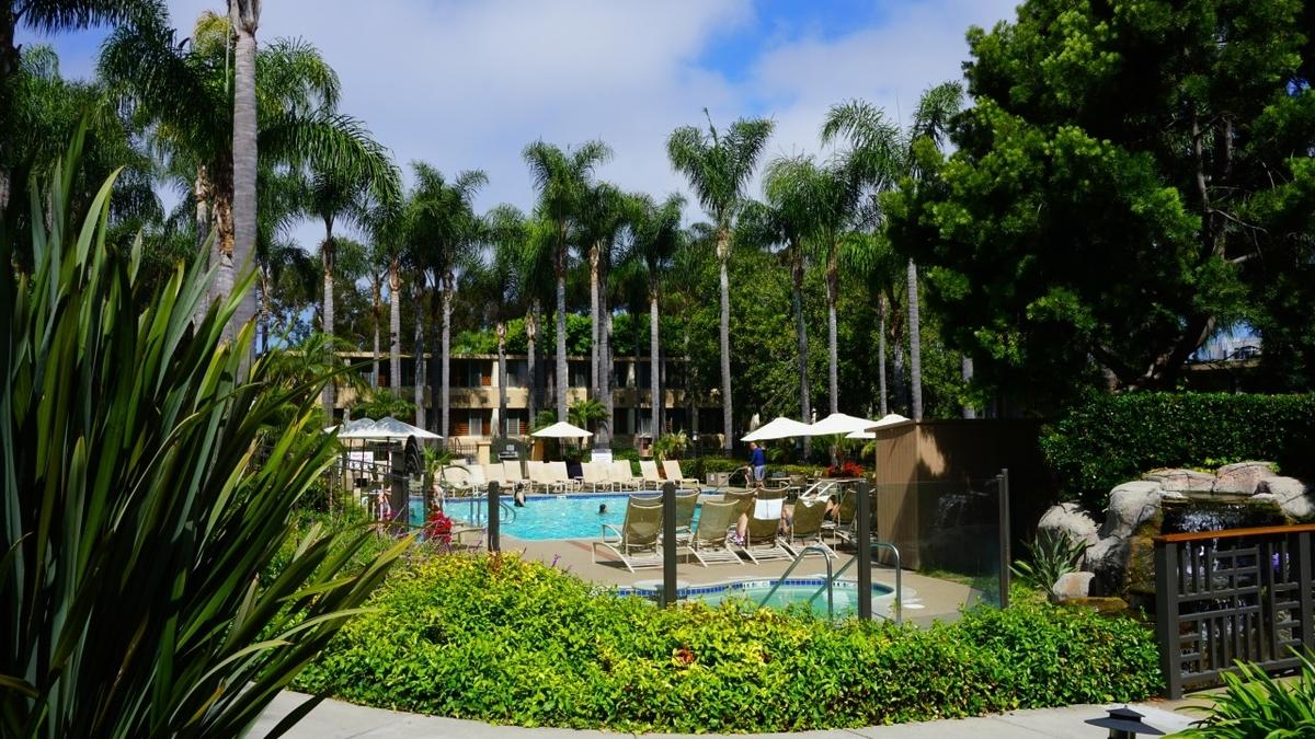 Sheraton La Jolla Hotel 予約ページ