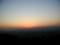 稲荷山の黄昏