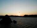 古宇利大橋からの夕景