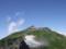 丸山からの白馬岳山頂