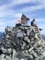 奥穂高岳山頂神社