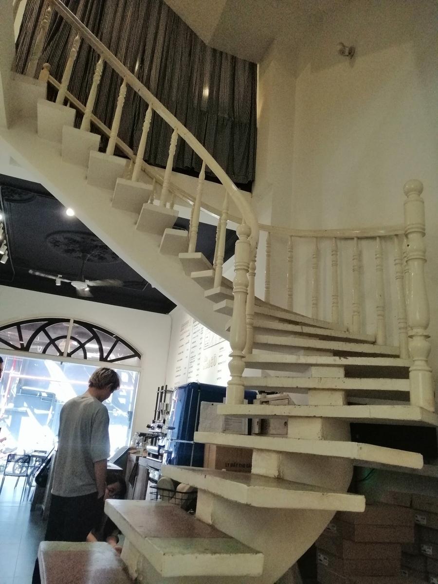 内階段つき。上はなんだろう?
