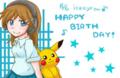 iceeyeさんお誕生日イラスト