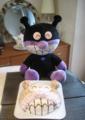 バイキンマンのキャラクターケーキ・レシピhttp://blogs.yahoo.co.jp/alfalfa317