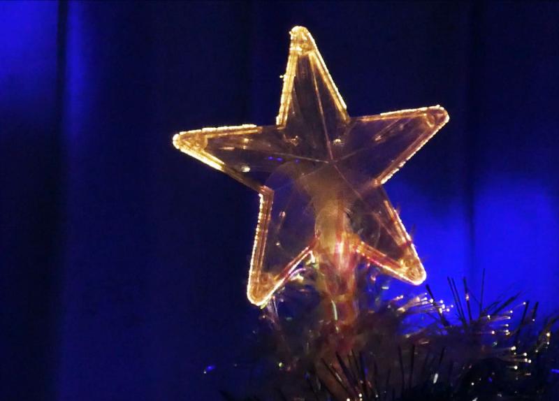 クリスマスツリー・スター