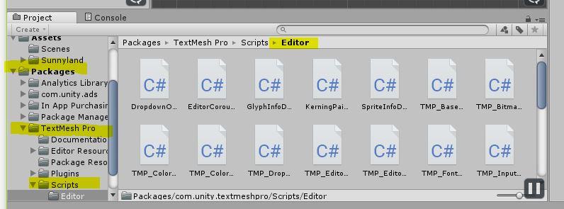 Textmesh Pro Scripting