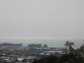 [彦根]彦根城から琵琶湖