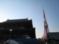 [東京][増上寺][東京タワー]