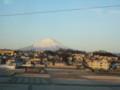 [富士山]新幹線の車窓から@早朝