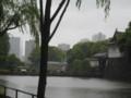 [江戸城]ビルの隙間から東京タワー!