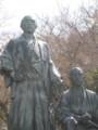 [円山公園]龍馬さんと中岡さん